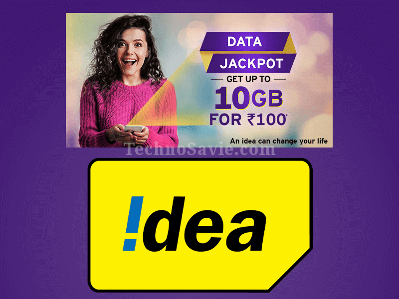 Idea Data Jackpot Offer