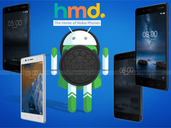 All Nokia-branded smartphones to be updated to Android 8.0 Oreo