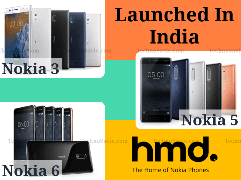 Nokia 3, Nokia 5, Nokia 6 launched as 'Made in India'