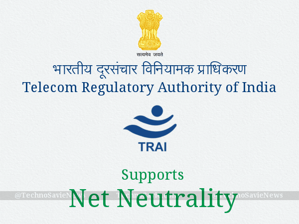 TRAI releases Recommendations to support Net Neutrality