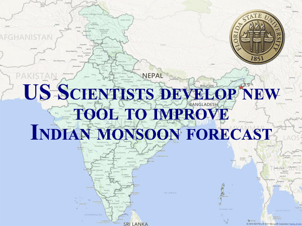 Scientists develop new tool to improve Indian monsoon forecast