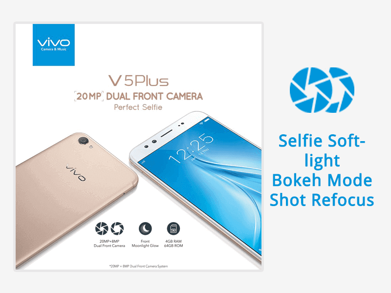 Vivo V5 Plus Selfie Smartphone
