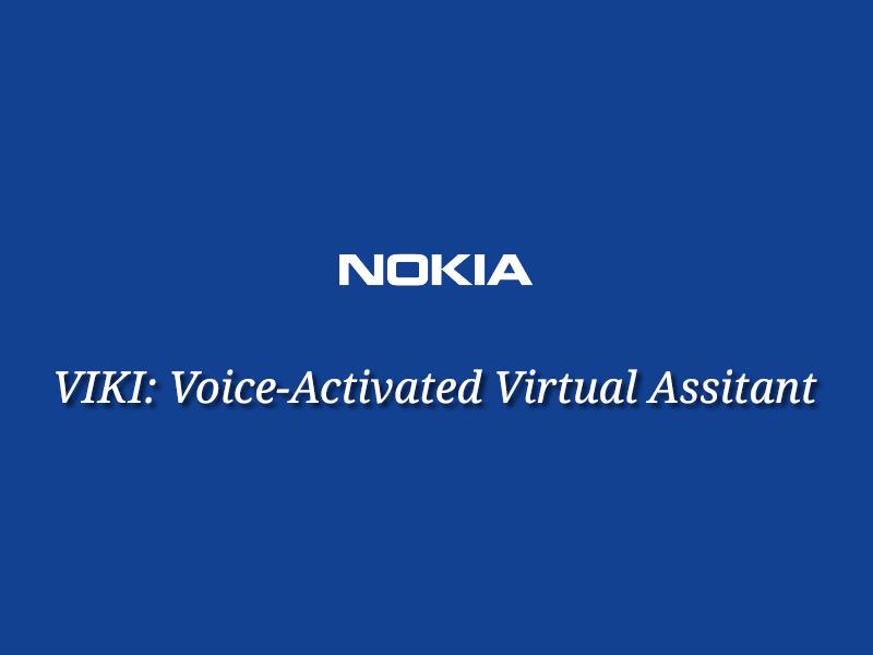 Viki: New Virtual Assistant of Nokia