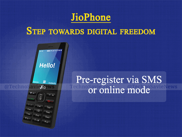 Reliance JioPhone 4G feature phone