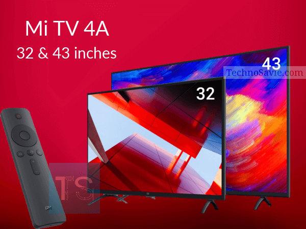 Mi TV 4A in 32 & 43-Inch