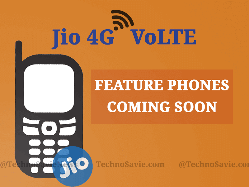 Reliance Jio 4G VoLTE feature phone