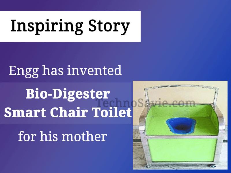 Bio-Digester Smart Chair Toilet (BDSCT)