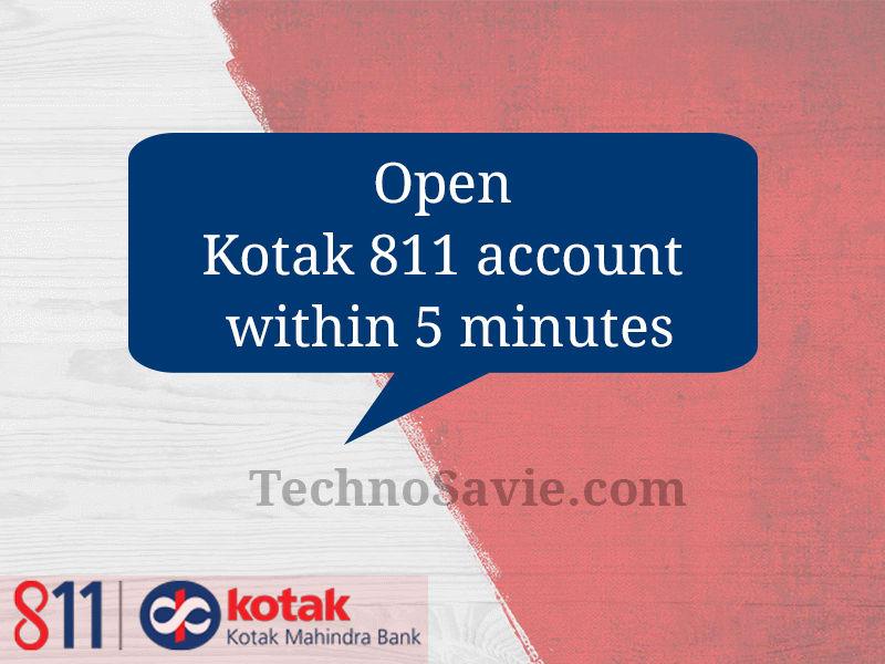 Kotak 811 Digital Savings Account