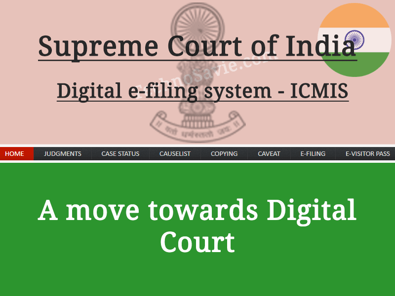 Integrated Case Management Information System of Supreme Court of India