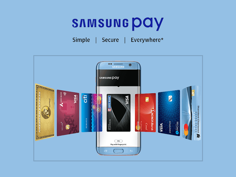 Samsung Pay : Simple and Secure Digital Wallet for Samsung Galaxy Smartphones