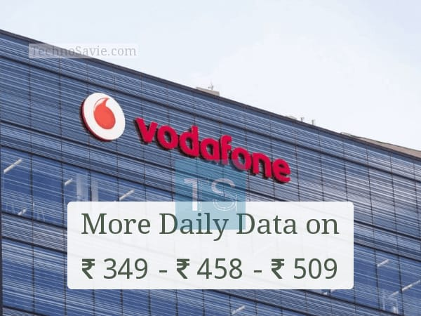 Vodafone 4G data revised prepaid plans: Offers more daily data