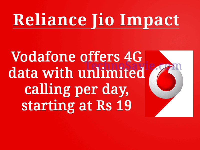 Vodafone 4G data offer