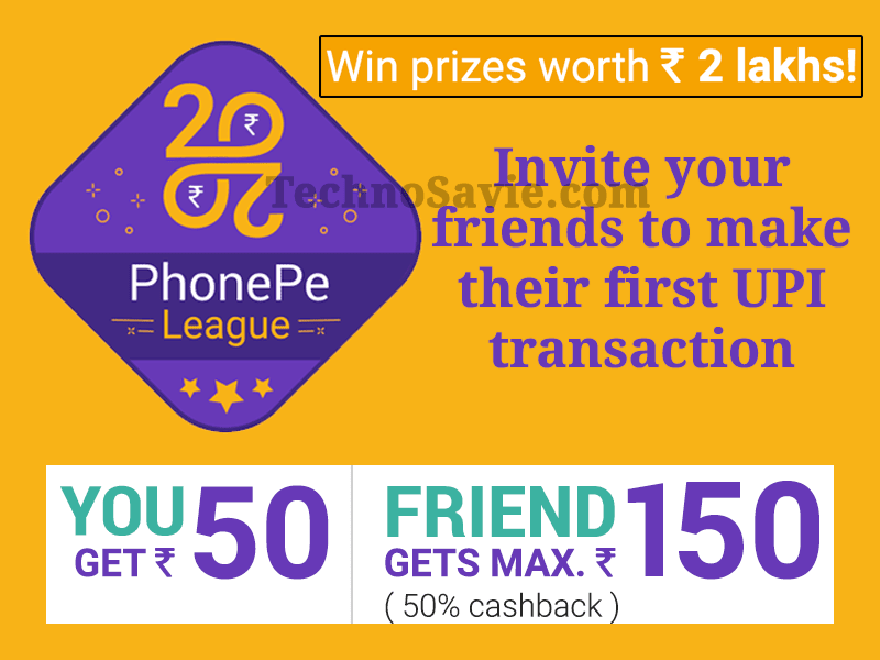 PhonePe League Refer and Earn Offer