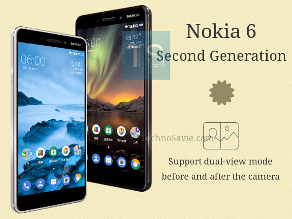 Nokia 6 Second Generation 2018