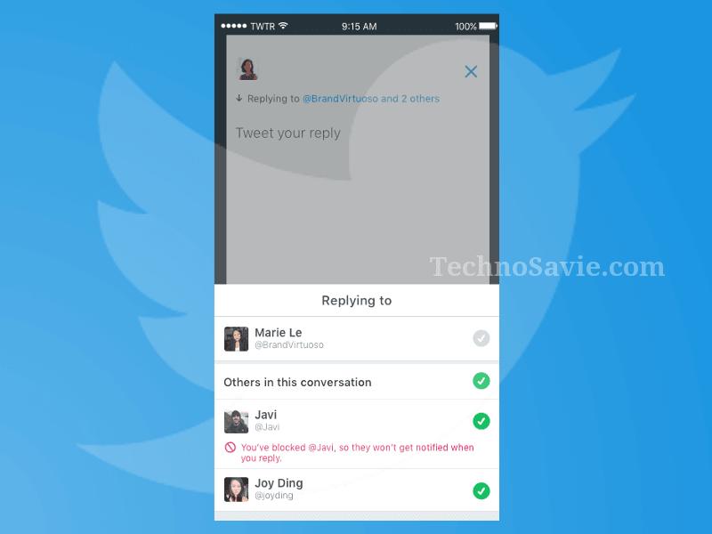 Twitter Replies 140 Characters Update