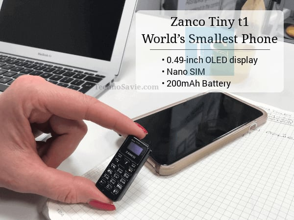 Meet Zanco Tiny t1: Claimed to be the world's smallest feature phone