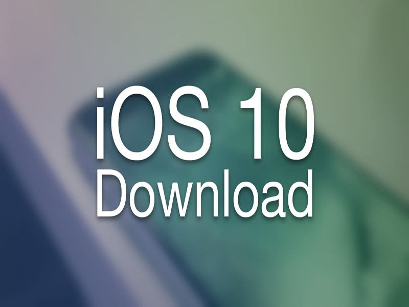 Download iOS 10