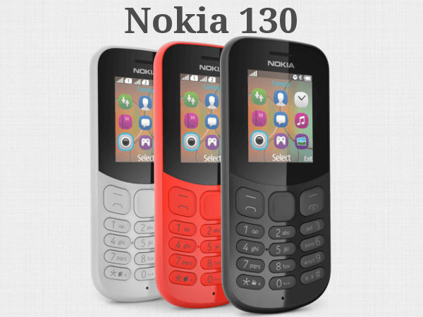 Nokia 130 feature phone