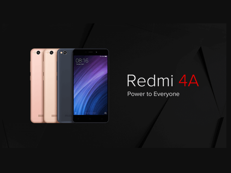 Xiaomi Redmi 4A Launched at Rs. 5,999
