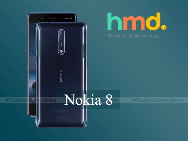 Nokia 8 Android smartphone launched