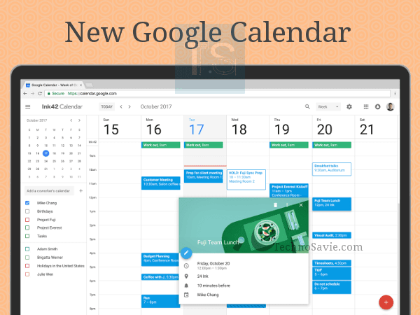 New Google Calendar for web: Time for refresh