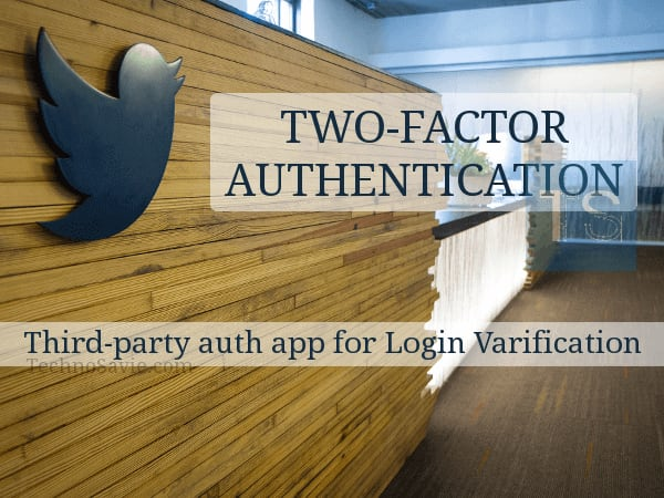 Twitter supports two-factor authentication without SMS