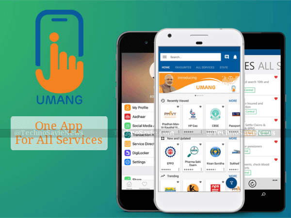 UMANG: one app - various Govt services