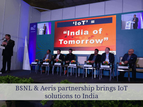BSNL & Aeris pact for IoT solutions