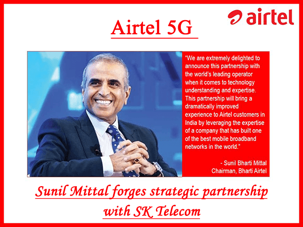 Airtel 5G: Sunil Mittal forges strategic partnership with SK Telecom