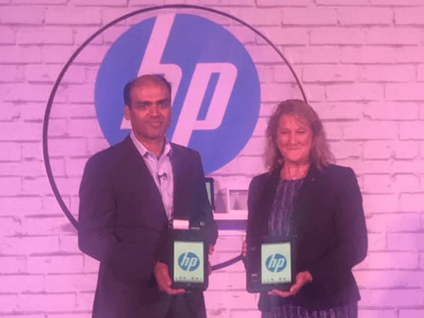 HP Pro 8 'Made for India' Tablet with Voice