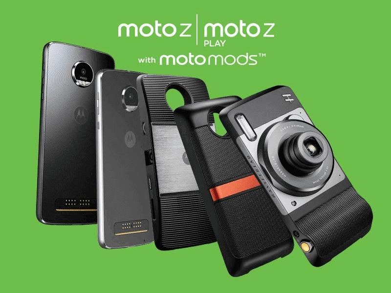 Moto Z & Moto Z Play with Moto Mods