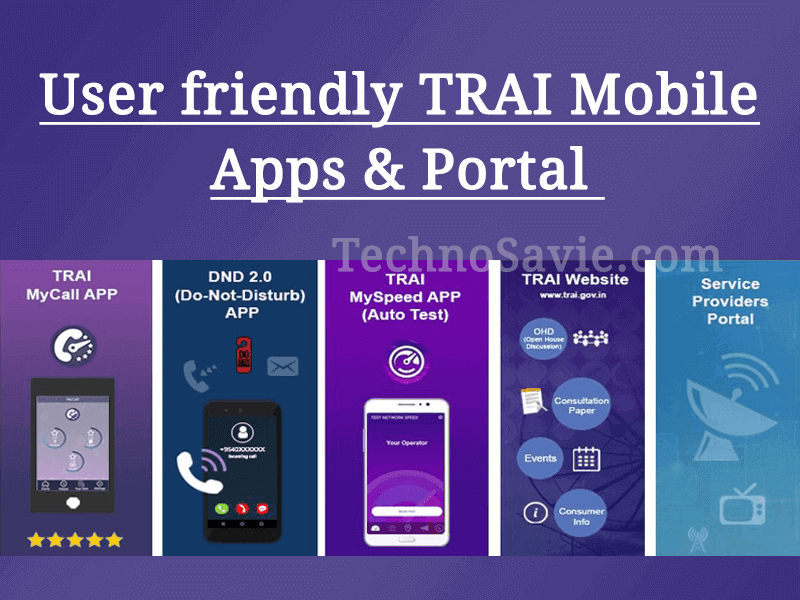 TRAI launches MyCall app for rating call quality and updates DND & MySpeed app