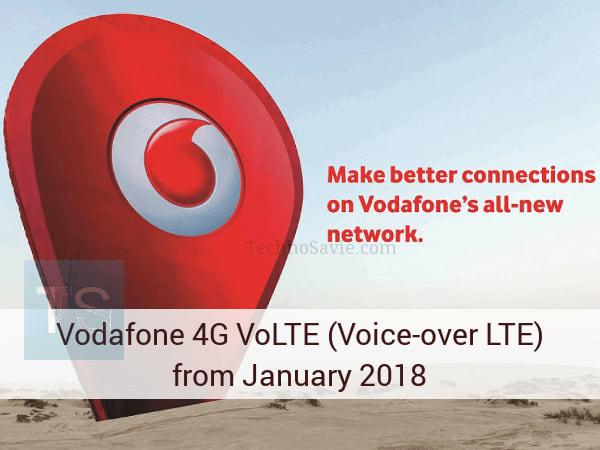 Vodafone 4G VoLTE