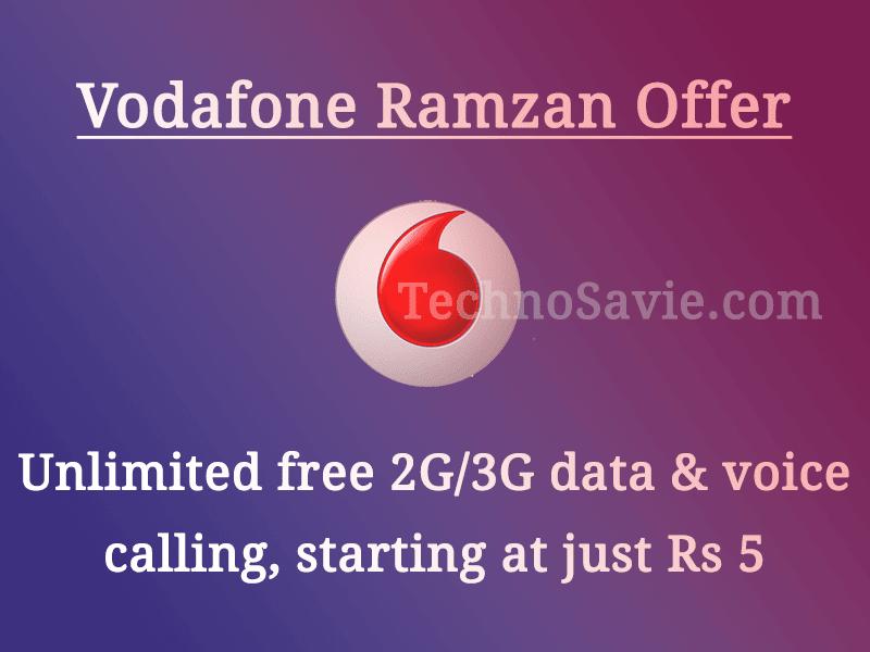 Vodafone Ramzan special offer
