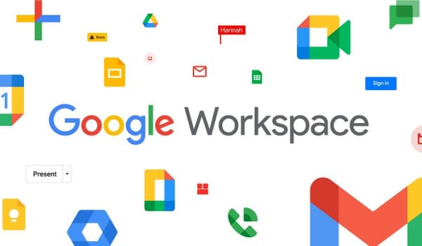 Google Workspace: New Google Apps Logos