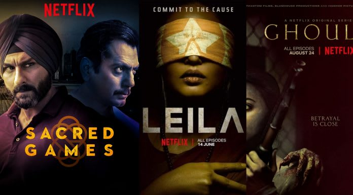 Netflix Web Series: Leila, Sacred Games, Ghoul