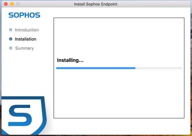 Install Sophos Antivirus
