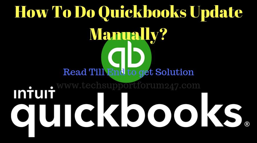 Quickbooks Update