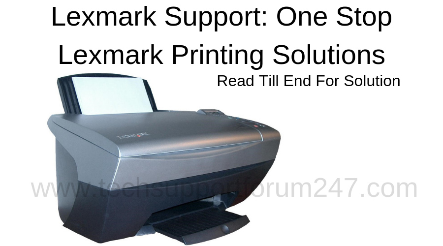 Lexmark Support : One Stop Lexmark Printing Solutions