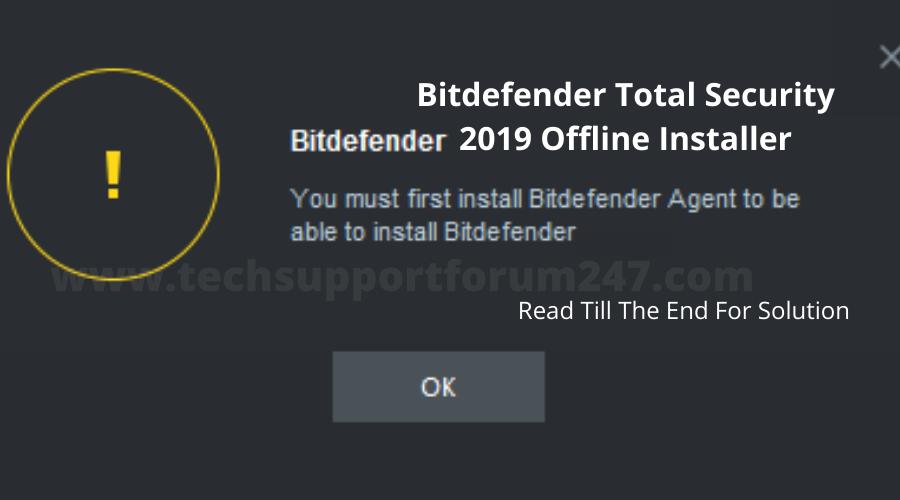 Bitdefender Total Security 2019 Offline Installer