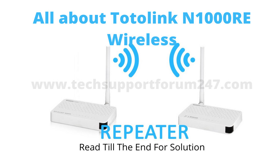 Totolink repeater