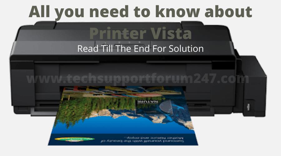 Printer Vista