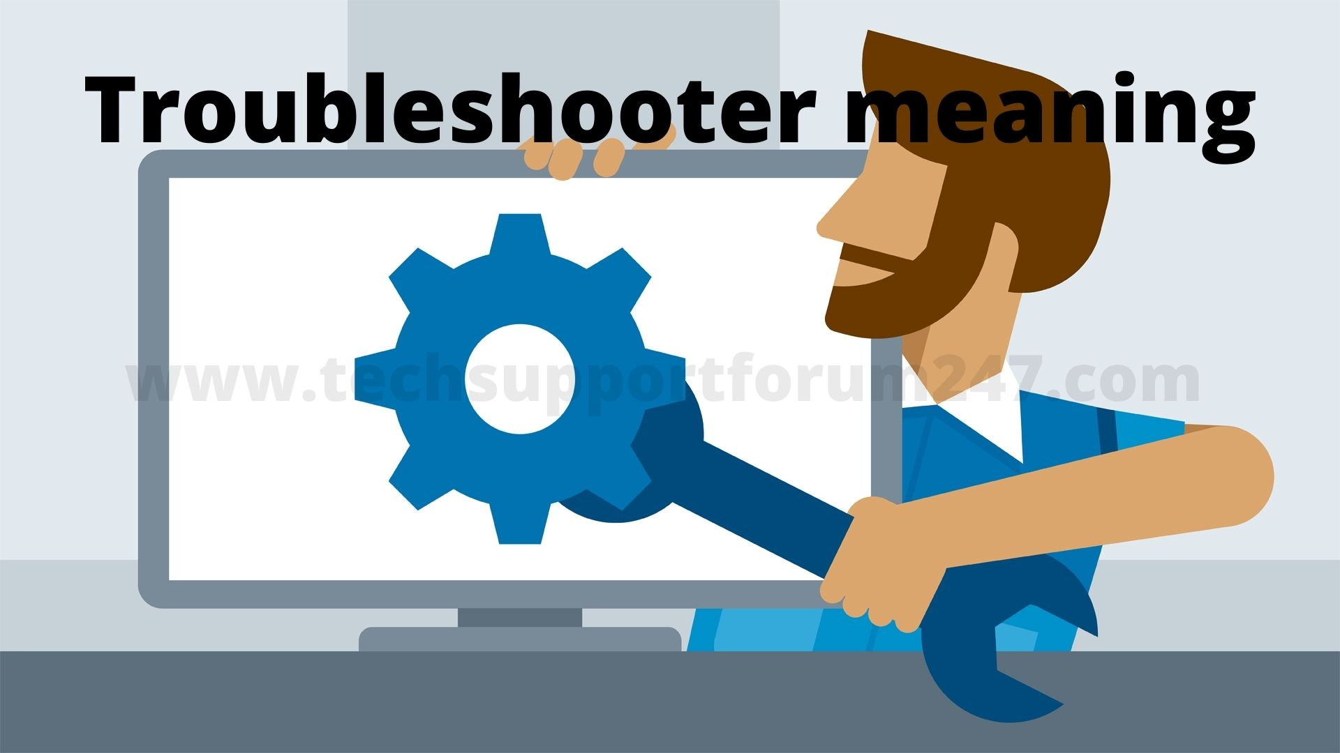 Troubleshooter meaning
