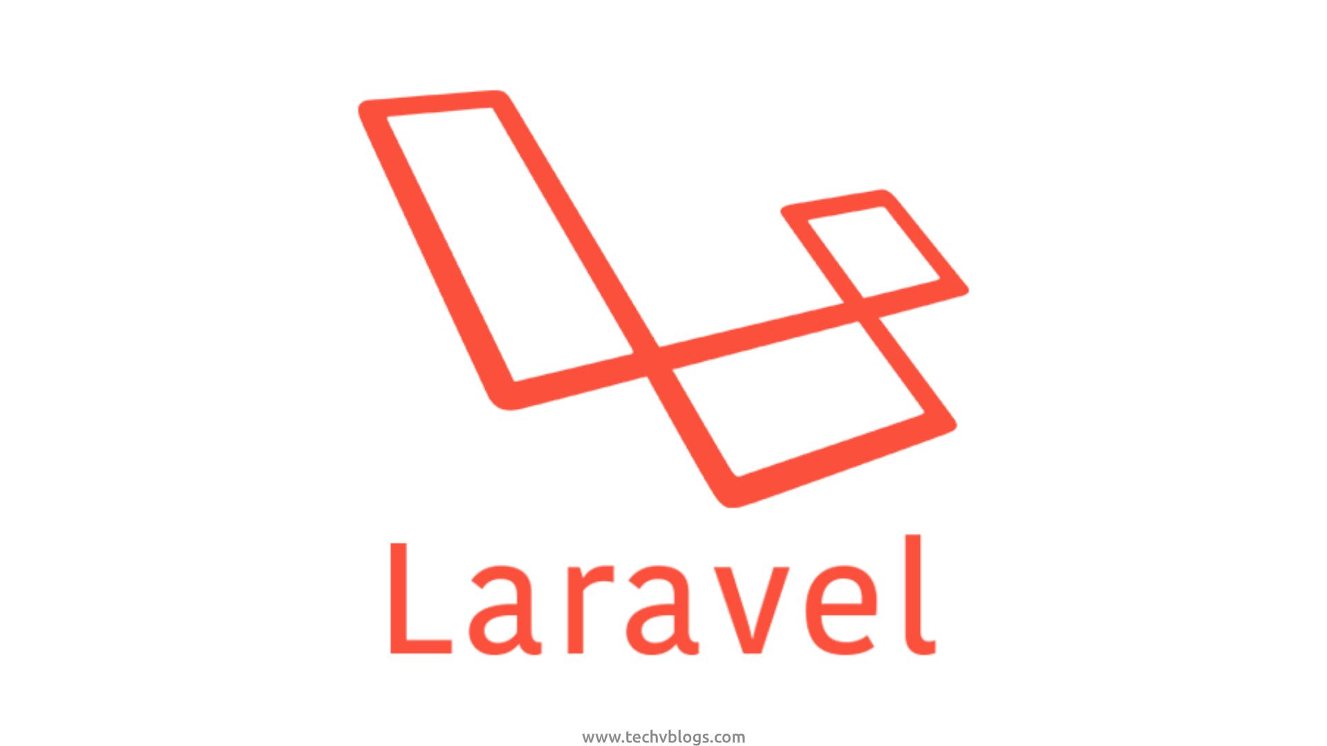 Laravel - Category - TechvBlogs
