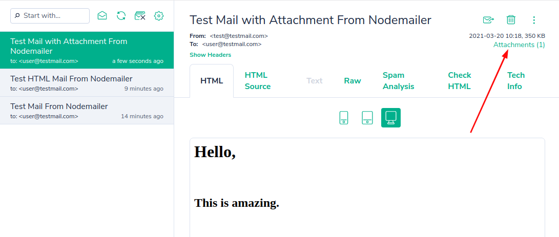 How to send an email with Node.js - TechvBlogs