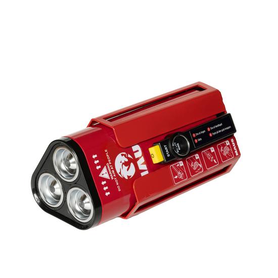 MAUS Xtin Grand - L'estintore compatto con il triplo della potenza