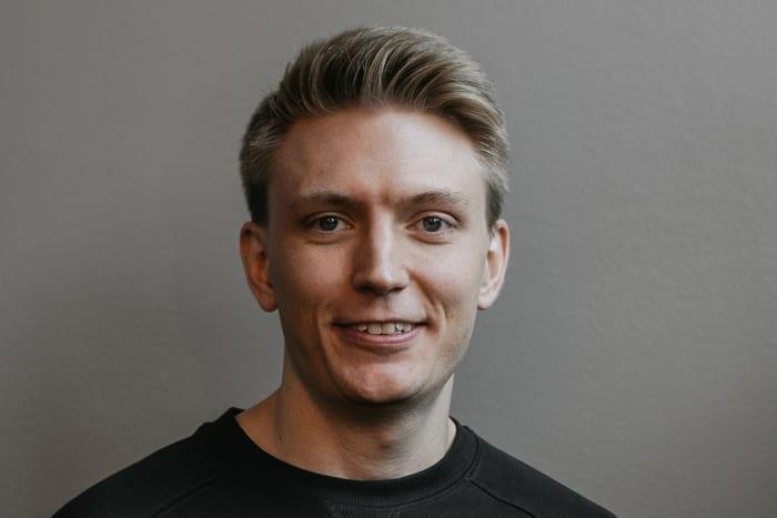 Portrait of Dennis Rosén