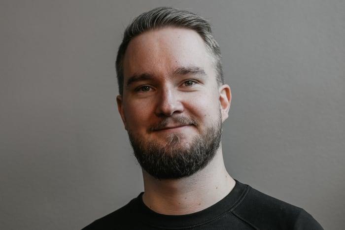 Portrait of Christoffer Sandell