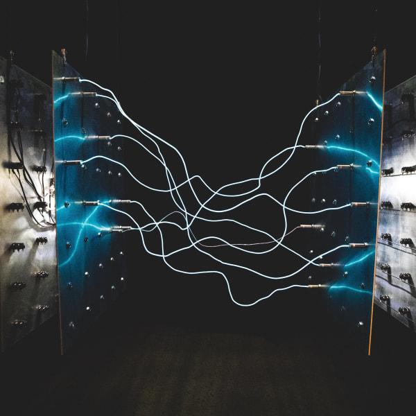 wires between servers
