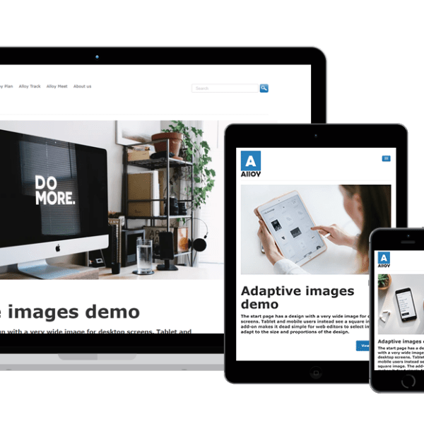 Adaptive images different devices